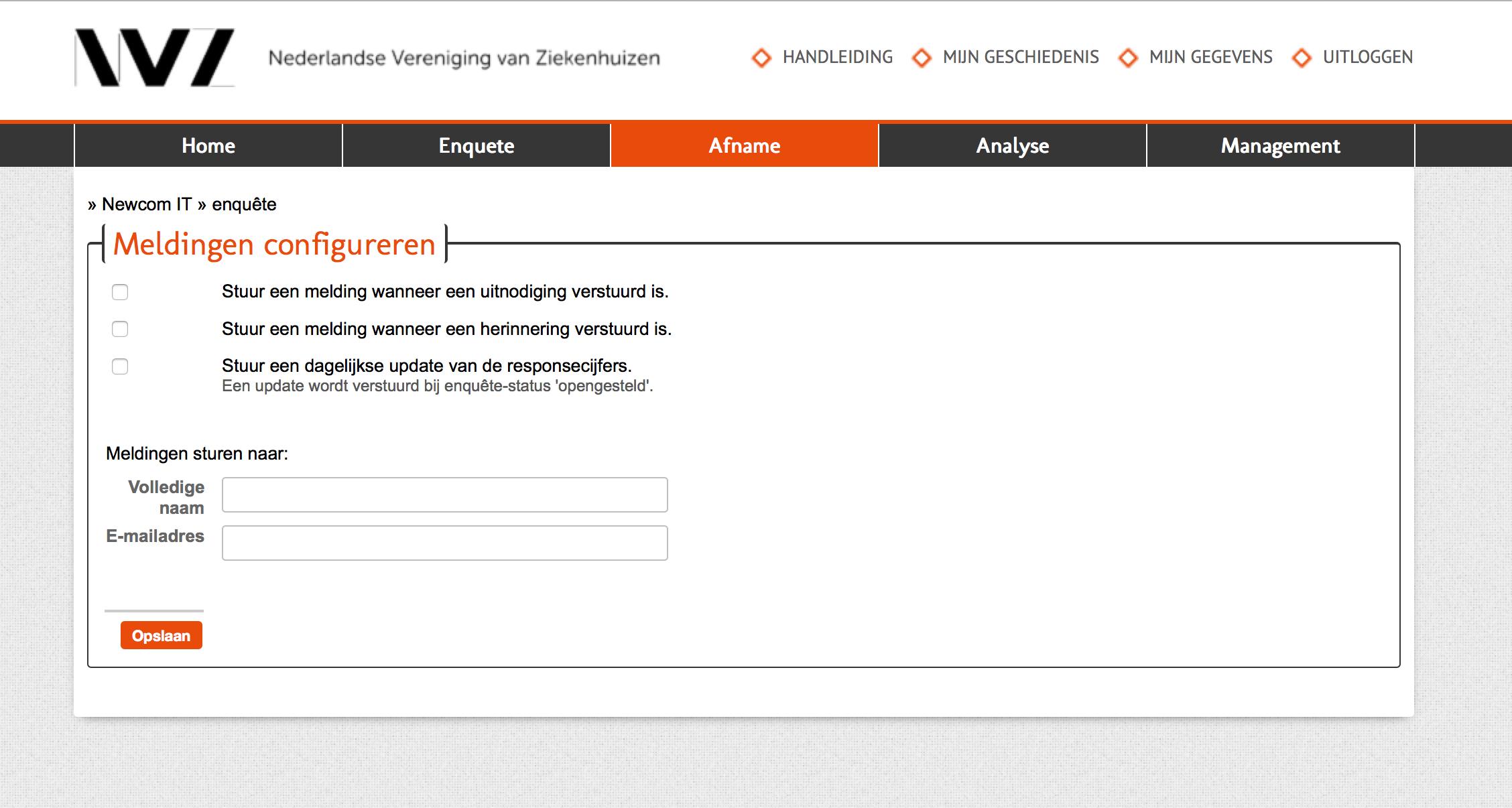 nederlandse vereniging van ziekenhuizen